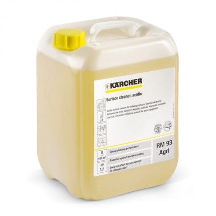 Почистващ препарат за повърхности RM 93 Agri - 10 l
